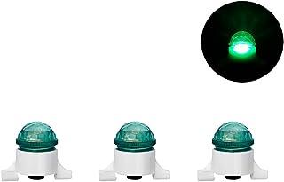MEEYO *新 LED 夜钓攻击警报发光棒咬合警报,3 件装