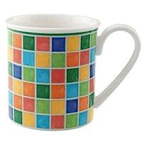 Villeroy & Boch Twist Alea 10-1360-9651 绿松石马克杯带手柄 0.30 升 6 件套