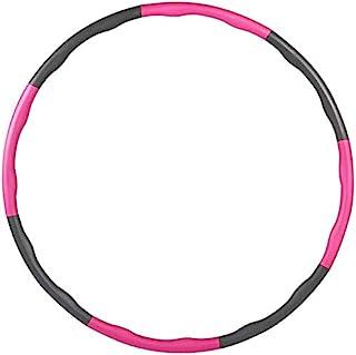 Maylai Hoola Hoop 成人*呼啦圈,可调节适合成人和儿童*,*呼啦圈适合家庭锻炼运动