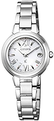 xC(クロスシー) 女士 手表 ES9430-54A 光能驱动 电波计时 银色