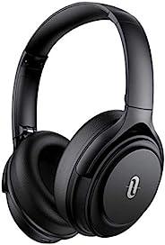 TaoTronics ANC 无线耳机蓝牙 5.0 主动降噪耳机 40 小时播放时间 Hi-Fi 音频 CVC 8.0 麦克风 Type-C 快速充电 适合旅行家庭办公室