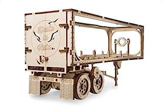 UGEARS 70057 卡车拖车重型卡车锁板挂坠 DIY 模型配件木质模型套件