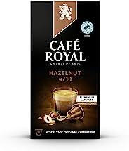 Café Royal 榛子风味版 Nespresso 兼容铝制咖啡豆荚,0.05 kg