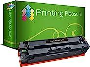 Printing Pleasure 兼容CF540X 203X碳粉盒适用于HP惠普 Colour LaserJet Pro M254dw M254nw MFP M280nw MFP M281fdn MFP M281fdw