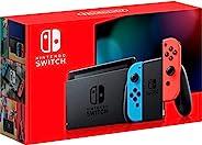 Nintendo 任天堂 Switch 带有霓虹蓝和霓虹红Joy-Con - HAC-001(-01)
