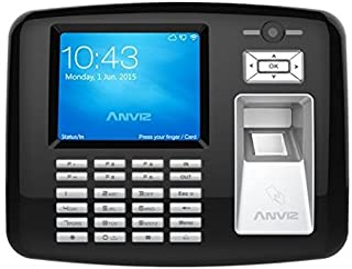 Anviz oa1000-pro 现场 生物识别 黑色