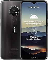 诺基亚 7.2 6.3 英寸 Android UK SIM-Free 智能手机6830AA002376 Nokia 7.2 Charcoal 炭黑色