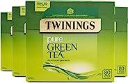 Twinings 纯绿茶包 80个(4件装 共320个)
