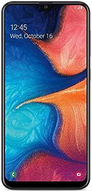 Tracfone 三星 Galaxy A20 4G LTE 预付智能手机(已锁定) - 黑色 - 32GB - 包括 SIM 卡 - CDMA