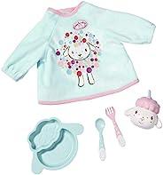 Zapf Creation 702024 Baby Annabell 午餐套装,彩色