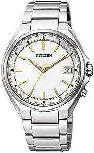 CITIZEN西铁城 腕表 Ateza 光动能驱动 电波腕表 世界时间 JETSOTER CB1120-50P 男士 银色