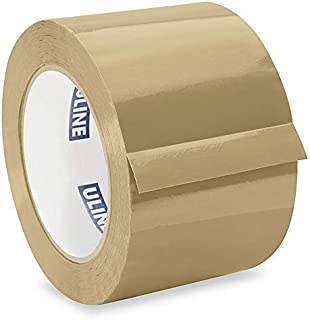 uline 工业送货 & 包装胶带7.62cm x 4.57M 2.0MIL–TAN
