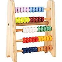 小算术推进 用于儿童和入席计算专业人士,木质,五排,迷你计刀非常适合出行,学习玩具数学,4 岁以上适用。 Kind FSC Holz 多色
