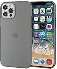 Elecom 宜丽客 iPhone 12 / 12 Pro 保护壳 保护壳 软质 薄款 黑色 PM-A20BUCUBK