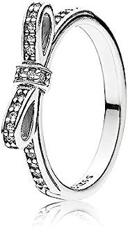 Pandora 潘多拉 女士戒指 925 纯银 锆石 白色 190906CZ