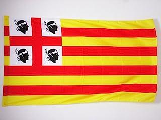 AZ FLAG 萨迪尼亚州阿尔顿旗帜 2 英尺 x 3 英尺 - 萨丁尼前旗 60 x 90 cm - 横幅 2x3 英尺 带孔
