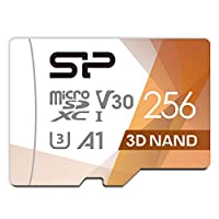 Silicon Power microSD 卡 2019年版 [Amazon.co.jp限定]SP256GBSTXDU3V20AB  256GB