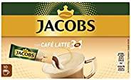 Jacobs 3合1特色速溶咖啡 适合制备Café Latte, 120包/12 x 10杯