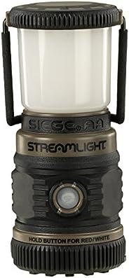 STREAMLIGHT 44941 Siege 200 流明超紧凑型工作灯(土狼绿色,3 节 AA 电池),200 流明