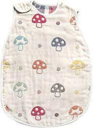 Hoppetta 小蘑菇 宝宝6层透气纱布 幼童睡袋 宝宝