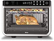 Ninja DT201 Foodi 10-in-1 XL Pro Air Fry Digital Countertop Convection Toaster Oven with Dehydrate and Reheat,