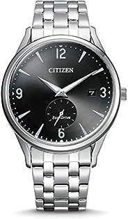 Citizen 西铁城 男士 指针式 光动能手表 不锈钢表带 BV1111-75E