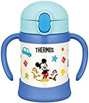 Thermos 膳魔师 保温杯 儿童吸管杯 FHV-250DS 适合9个月及以上 浅蓝色