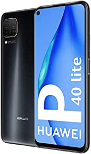 Huawei 华为 P40 Lite - 智能手机 128GB,6GB 内存,双SIM,黑色