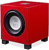 REL Acoustics T/9i RED Ltd. 版低音炮,10 英寸(约 25.4 厘米)前置驱动器,箭头无线端…