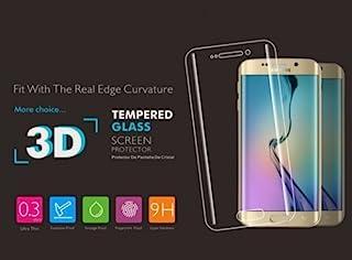 One Plus 802178 屏幕保护膜 平衡玻璃拱形 3D 适用于三星 S6 Edge Plus (0.2 毫米) 金色