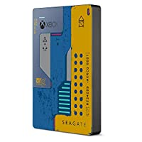 Seagate 希捷 外部硬盘便携式硬盘游戏驱动器,适用于Xbox 2TB–专为Xbox One设计的USB 3.0,CyberPunk 2077特别版(STEA2000428)