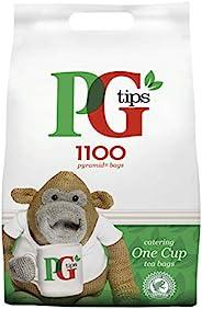 PG Tips Everyday 一杯金字塔形茶包,散装 1100个可口的茶包,用于餐饮,生日,分享场合,办公室茶歇和下午茶