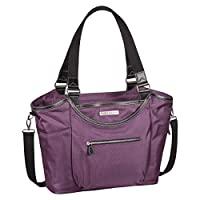 "Clark & Mayfield Women's Bellevue Laptop Handbag Tote Bag 18.4"" - Purple"
