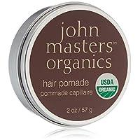 John Masters Organics - 發波美 - USDA 認證的有機天然發造型產品適合男士和女士,含蜂蠟和芒果油的熱保護劑 - 不含石油 - 56.7 克