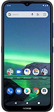 Nokia 诺基亚 1.4   Android 10(Go Edition)  解锁智能手机   2 天电池   双 SIM 卡   美国版   2/32GB   6.51 英寸屏幕   Fjord 蓝色