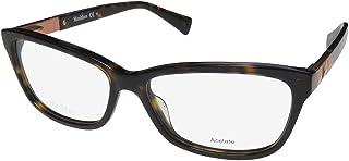 Max Mara 1205 女式设计师水晶弹簧铰链高级段正品眼镜/眼镜