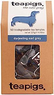 Tea Pigs 全叶制成的大吉岭伯爵茶包(1袋50茶包),4.40盎司,125克