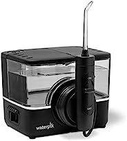 waterpik 洁碧 离子专业无绳水牙线清洁器 可充电和便携,黑色,1 支装