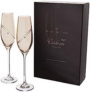 Dartington 水晶金色长笛 - 庆祝闪光长笛