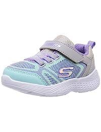 SKECHERS 斯凯奇 运动鞋 Snap Sprints 女童 グレー×マルチ 13.0 cm 2E