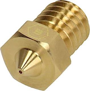 BROZZL Monoprice 喷嘴黄铜 0.4 毫米直径 适用于3D 打印机
