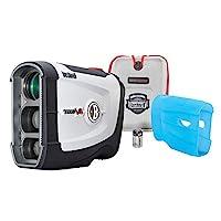 Bushnell Tour V4 JOLT 高尔夫激光测距仪,Patriot Pack 版本,含保护皮肤