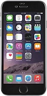 BigBen BC312390 钢化玻璃屏幕保护膜,适用于 Apple iPhone 6 黑色