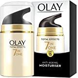 Olay 玉兰油 Total Effects 7合1日间保湿霜,抵御衰老,SPF 15(男女均可),1.7盎司(约48…