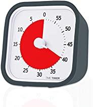 定时器 MOD,60 分钟可视模拟计时器,可选警报(开/关),无噪音的计数;时间管理工具 3-1/2 x 3-1/2 in 85641 1