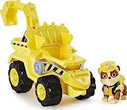 Paw Patrol 狗狗巡逻队,恐龙救援小砾的豪华Rev Up 汽车,带神秘恐龙模型
