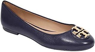 Tory Burch 女式 Claire 芭蕾平底鞋 翻滚皮革