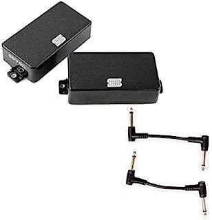 Seymour Duncan 11106-52-B AHB-3S Mick Blackouts HB EMTY 套装 - 黑色带 2 根接线电缆