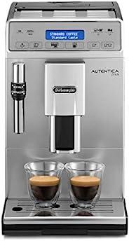 De'Longhi 德龍 Autentica Plus 全自動咖啡機,卡布奇諾,濃縮咖啡,ETAM29.620.S,銀