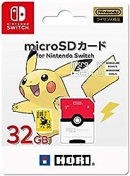 任天堂 口袋妖怪 microSD卡 适用于任天堂 Switch 32GB 皮卡丘 【支持任天堂Switch】